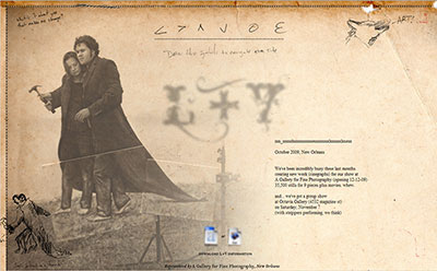 Louviere + Vanessa, web site