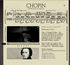 Chopin Page, Web Site of Louis Lortie