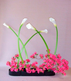 Example of Ikebana