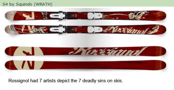 rossignol ski line