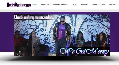 Dante's home page