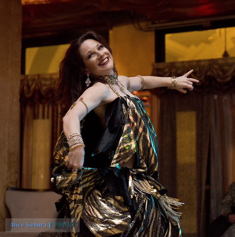 Melina dancing at Byblos with the Ed Melikan Ensemble