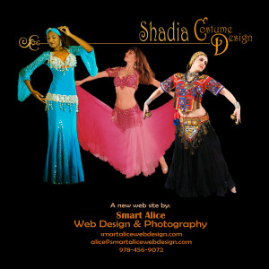 Shadia Costume Design Web Site