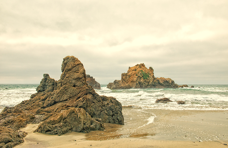 Pfeifer Beach, Big Sur